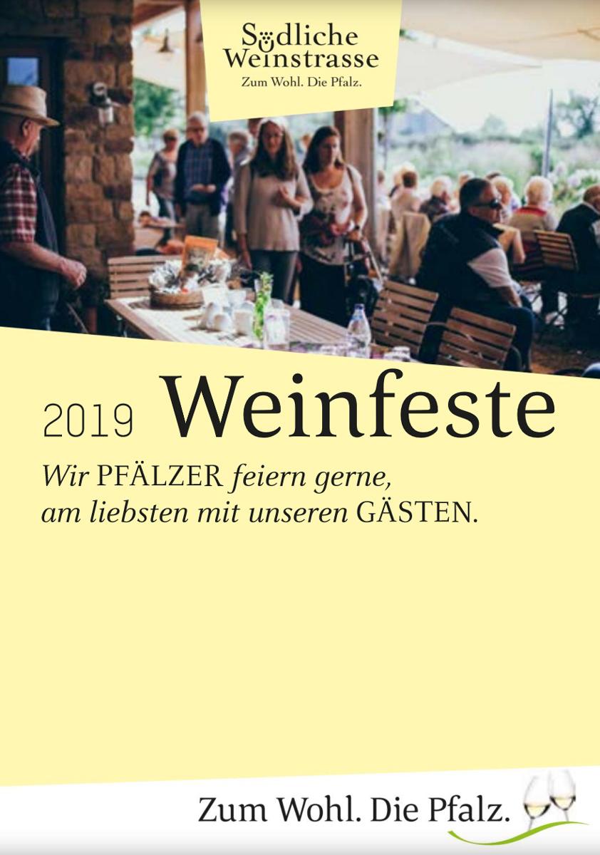 Weinfestkalender 2019